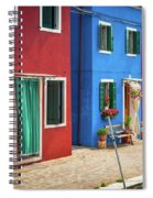 Colorful Street Spiral Notebook