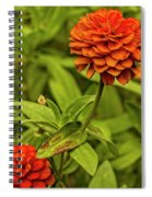 Colorful Summer Flowers Spiral Notebook