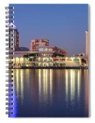 Colorful Tampa Panorama Spiral Notebook