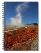 Colorful Thermal Area  Spiral Notebook