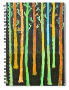Colorful Trees Spiral Notebook