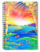 Colorful Tropics 12 Spiral Notebook