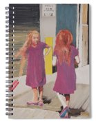 Colorful Twins Spiral Notebook