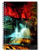 Colorful Waterfall Spiral Notebook