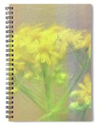 Colorful Wildflower Bouquet Spiral Notebook