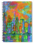 Coloring The Big Apple Spiral Notebook