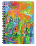 Coloring The Big Apple Stage One Spiral Notebook