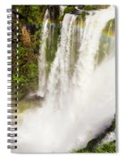 Colors Above The Water Spiral Notebook