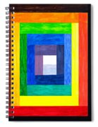 Colors Into One Spiral Notebook