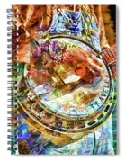 Colors Of A Banjo Busker Spiral Notebook