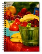 Colors Of Alabama Spiral Notebook