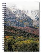 Colors Of Autumn On Mcclure Pass Spiral Notebook