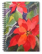 Colors Of Christmas Spiral Notebook