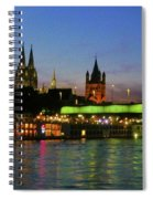 Colors Of Cologne Spiral Notebook