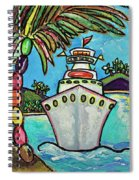 Colors Of Cruising Spiral Notebook