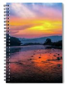 Colors Of Dawn Spiral Notebook