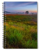 Colors Of Iowa  Spiral Notebook