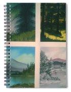 Colors Of Landscape 2 Spiral Notebook