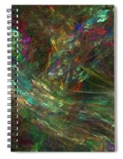 Colors Of Light Spiral Notebook