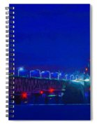 Colors Of Mackinac At Dusk Spiral Notebook