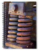 Colors Of Rust Spiral Notebook