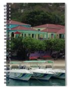 Colors Of St. John Us Virgin Islands Spiral Notebook