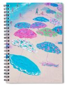 Colors Of The Beach Spiral Notebook