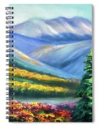 Colors Of The Mountains 2 Spiral Notebook