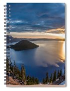 Colors Of The Spring Morning At Discovery Point Spiral Notebook