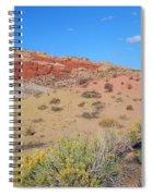 Colors Of The Utah Desert Spiral Notebook