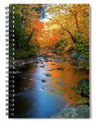 Colors On A Stream Spiral Notebook