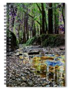 Colors On The Creek Spiral Notebook