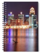 Colors On The Louisville Riverfront Spiral Notebook