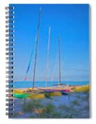 Colors On The Shore Spiral Notebook