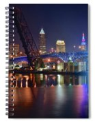 Colors On The Water Spiral Notebook