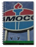 Colossal Amoco Spiral Notebook