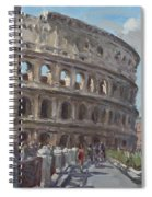 Colosseo Rome Spiral Notebook