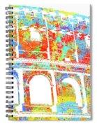 Colosseum - Colorsplash Spiral Notebook