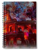 Colosseum Rome Italy   Spiral Notebook