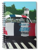 Colour Me Gone Spiral Notebook