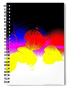 Coloured Hearts I Spiral Notebook