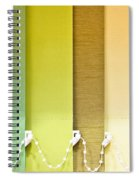Colourful Blind Spiral Notebook