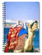 Colourful Camel Spiral Notebook