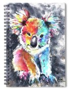 Colourful Koala Spiral Notebook