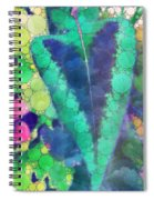 Colourful Leaves Spiral Notebook