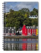 Colourful Tobermory Spiral Notebook