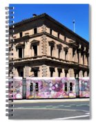 Colourful Tram At Old Treasury Building Spiral Notebook