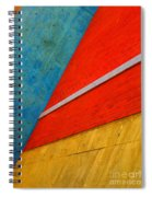 Colours And Shapes Spiral Notebook