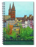 Colours Of Basel Spiral Notebook