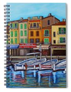 Colours Of Cassis Spiral Notebook
